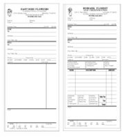 Picture of IMPRINTED ORDER FORMS (duplicate 2-part)Not Numbered, Picture 1