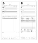 Picture of STOCK SINGLE ORDER FORMS (PADDED)