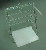 "Picture of DISPENSER RACK FOR WHITE PLASTIC ""GROCERY"" BAGS"