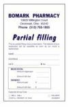 Picture for category PERSONALIZED SINGLE PARTIAL FILLING FORMS (P2)