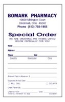 Picture of PERSONALIZED DUPLICATE (2-PART) SPECIAL ORDER FORMS (S2), Picture 1
