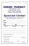 Picture for category PERSONALIZED SINGLE SPECIAL ORDER FORMS (S2)