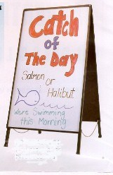 Picture of INDOOR / OUTDOOR DRY ERASE SIGN