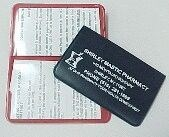 Picture of REGULAR SIZE MEDICAID CARD HOLDER 2 POCKET