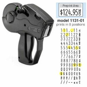 Picture of MONARCH MODEL 1131-01 PRICE MARKER