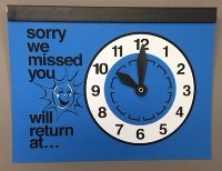 Picture of RETURN CLOCK