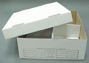 Picture of PRESCRIPTION STORAGE CARTON