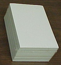 "Picture of BLANK SCRATCH PADS 3 3/8"" X 5 1/4"""