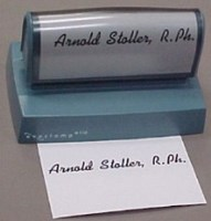 Picture of SIGNATURE STAMP, Picture 1