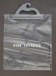 Picture of HANGING PRESCRIPTION BAGS #104 10 X 12 1/2