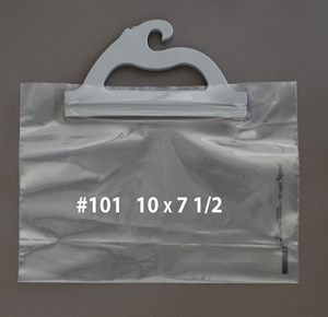 Picture of HANGING PRESCRIPTION BAGS #101 10 X 7 1/2