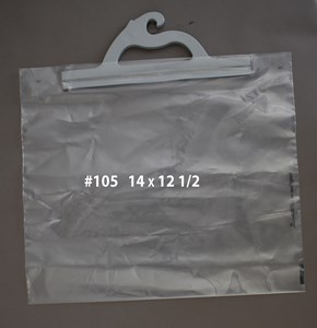 Picture of HANGING PRESCRIPTION BAGS #105 14 x 12 1/2
