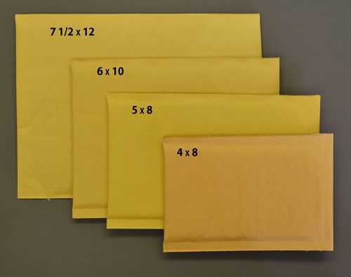 "Picture of BUBBLE ENVELOPES 7 1/4"" X 12"" (pkg of 100)"