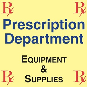 Picture for category PRESCRIPTION DEPARTMENT EQUIPMENT & SUPPLIES