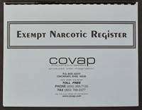 Picture of EXEMPT NARCOTIC REGISTER, Picture 1