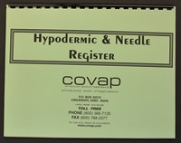 Picture of HYPODERMIC & NEEDLE REGISTER, Picture 1