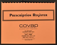 Picture of PRESCRIPTION REGISTER, Picture 1
