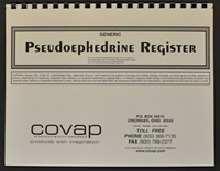Picture of GENERIC PSEUDOEPHEDRINE REGISTER, Picture 1