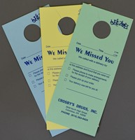 Picture of Delivery DOOR HANGERS (FOR DRUGGIST), Picture 1