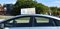 Picture of TOP OF CAR ADVERTISING SIGN (FOR FLORIST), Picture 2