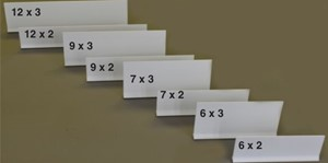 Picture for category MAGNETIC SHELF DIVIDERS  6 X 2 and 6 X 3